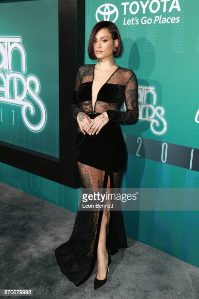 Kehlani attends the 2017 Soul Train Awards presented by BET at the Orleans Arena on November 5 2017 in Las Vegas Nevada