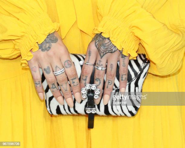 Kehlani attends the 2018 CFDA Awards at Brooklyn Museum on June 4 2018 in New York City