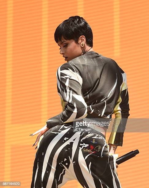 Kehlani performs during the 2016 Outside Lands Music And Arts Festival at Golden Gate Park on August 7 2016 in San Francisco California