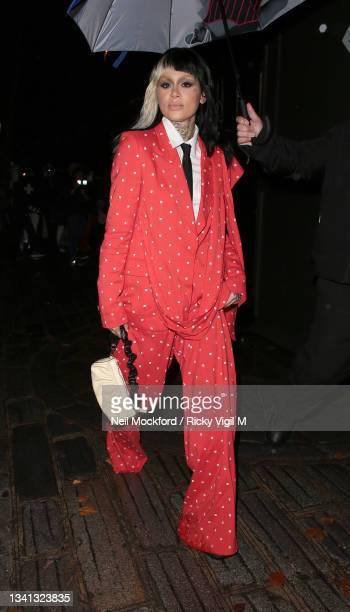 Kehlani seen attending Erdem at The British Museum during London Fashion Week September 2021 on September 19, 2021 in London, England.