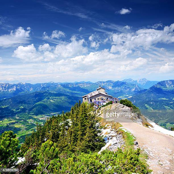 kehlsteinhaus - berchtesgaden stock pictures, royalty-free photos & images