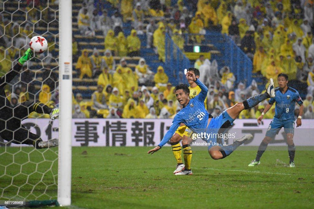 Kashiwa Reysol v Kawasaki Frontale - J.League J1 : ニュース写真