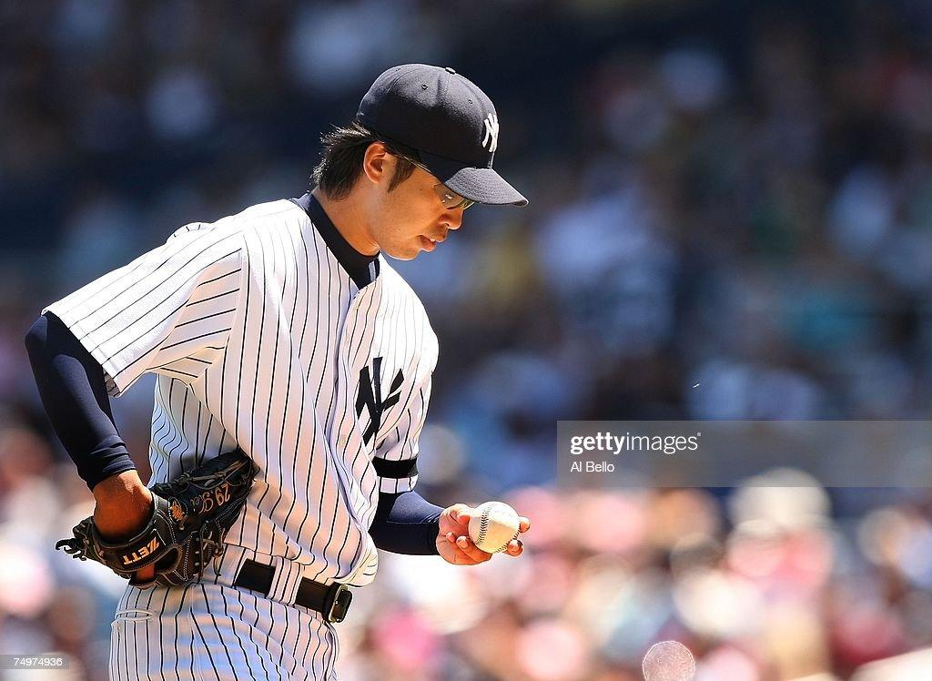 Oaklan Athetics v New York Yankees : ニュース写真