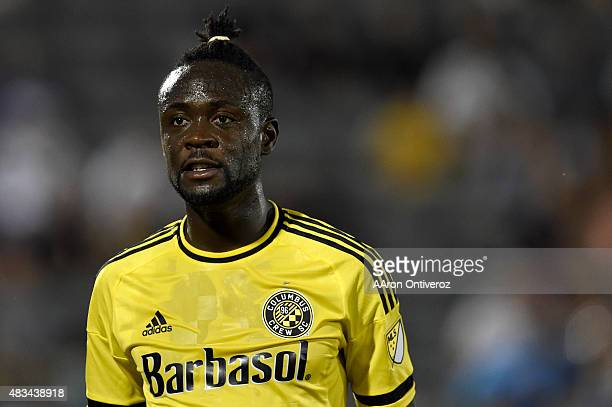 Kei Kamara of Columbus Crew scored two goals against the Colorado Rapids during the second half of the Crew's 21 win The Colorado Rapids hosted the...