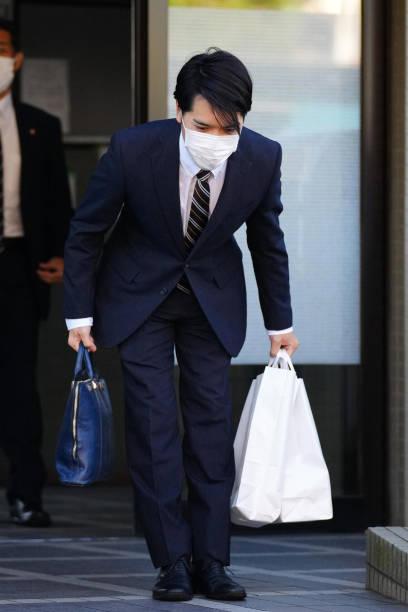 JPN: Kei Komuro, Fiance Of Princess Mako Meets Crown Prince And Crown Princess Akishino