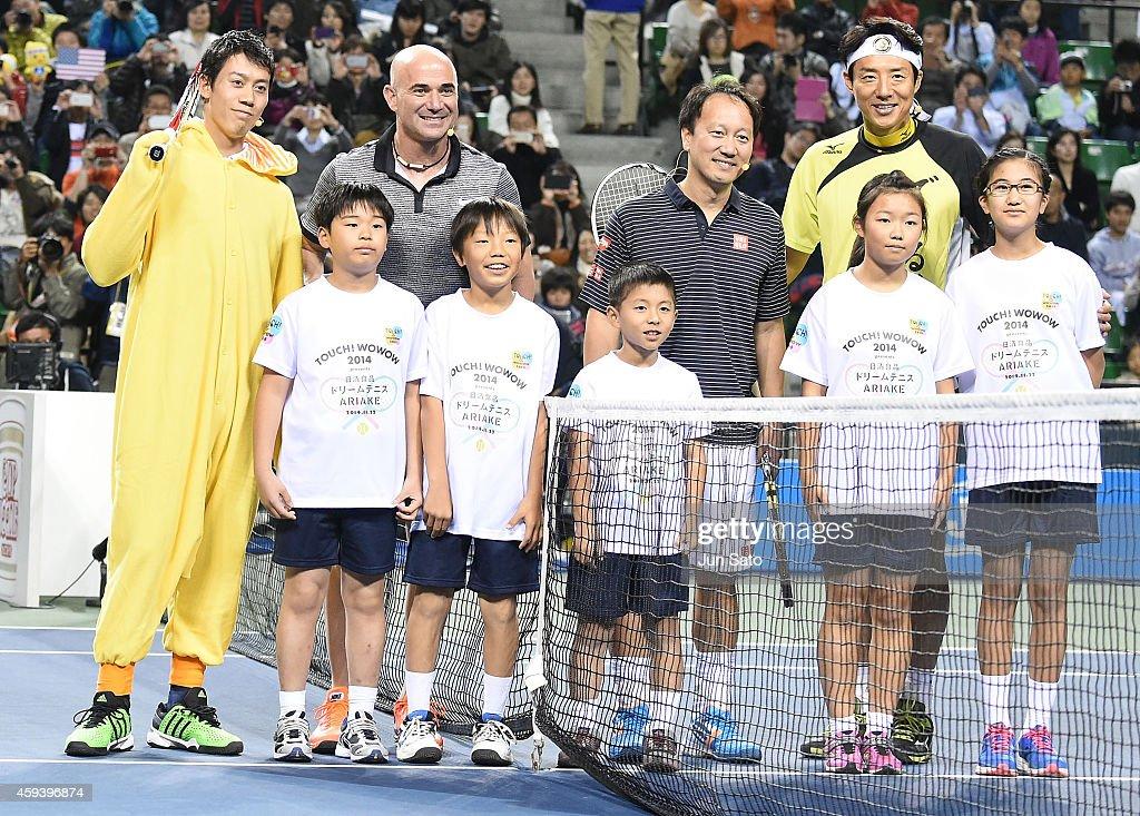Dream Tennis Ariake : ニュース写真