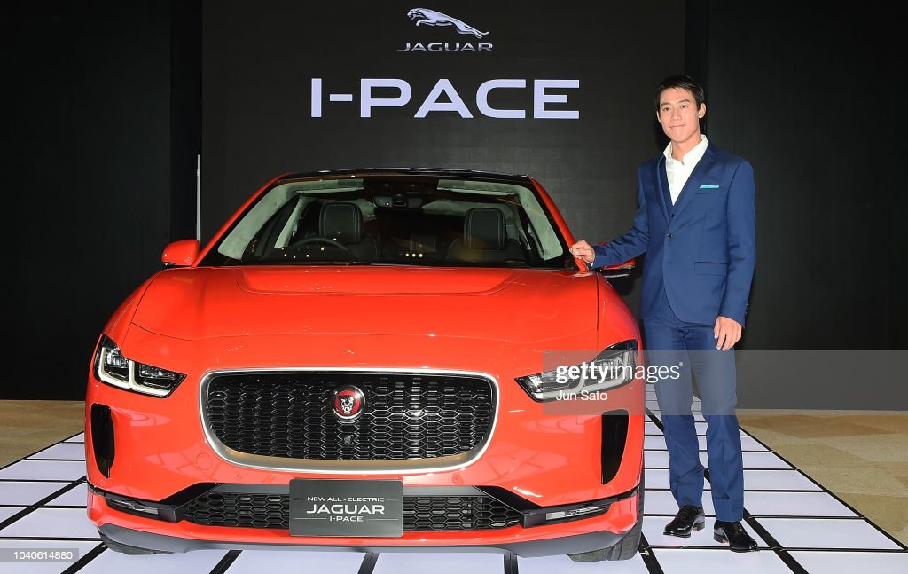 Jaguar I-Pace Unveiling In Tokyo