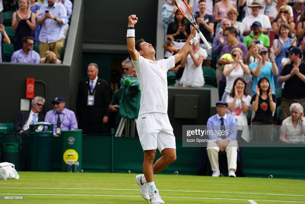 TENNIS: JUL 05 Wimbledon : ニュース写真