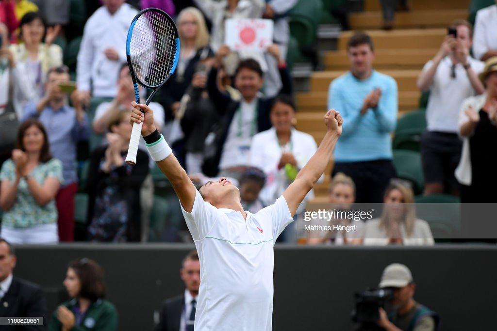 Day Seven: The Championships - Wimbledon 2019 : ニュース写真