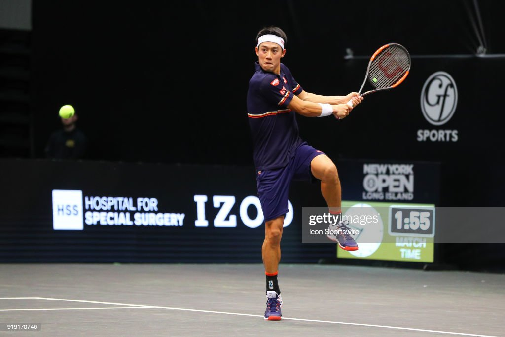 TENNIS: FEB 16 New York Open : ニュース写真