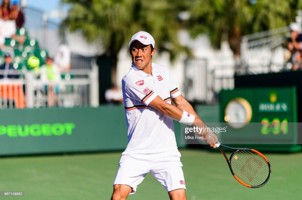 Miami Open 2018 - Day 5 : ニュース写真