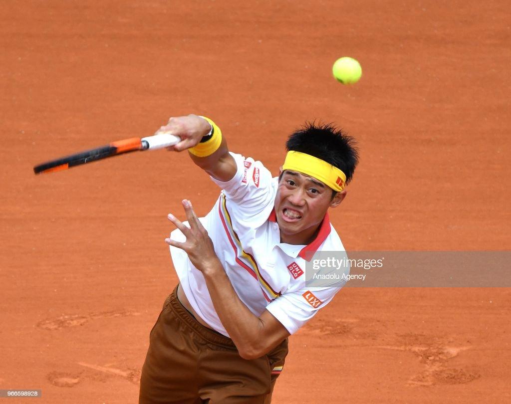 French Open tennis tournament 2018 - Day 8 : News Photo