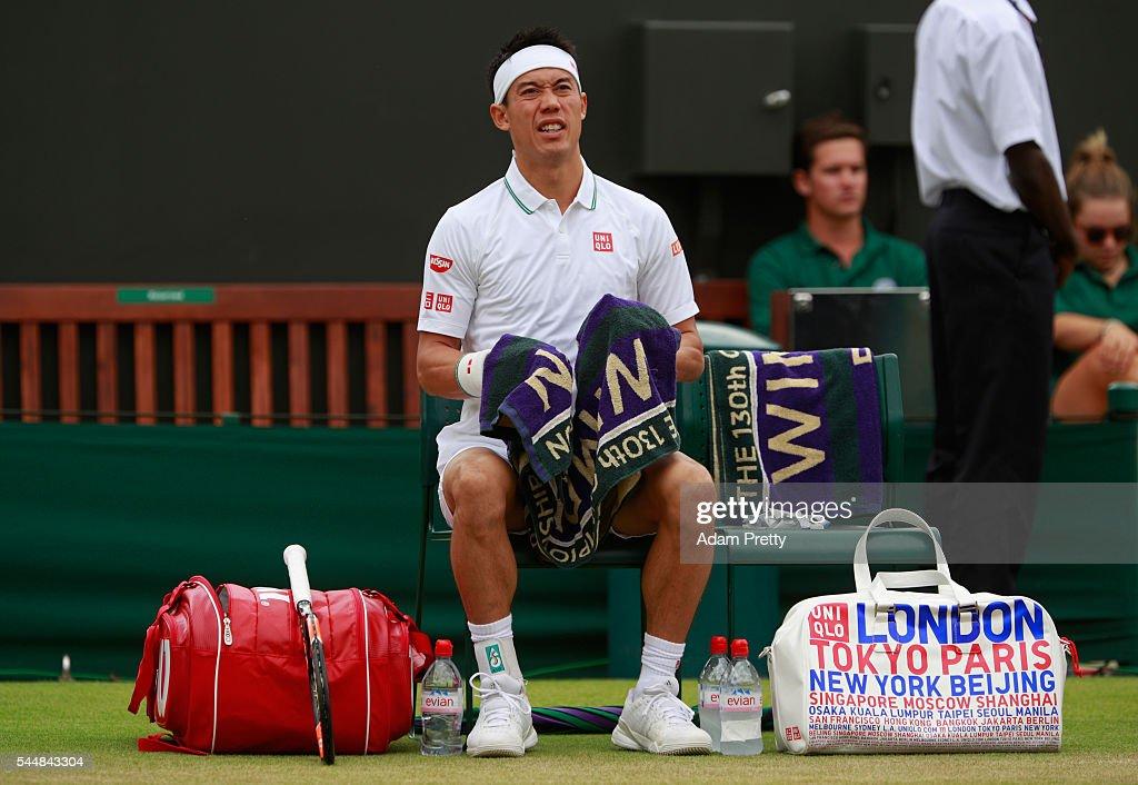 Day Seven: The Championships - Wimbledon 2016 : News Photo