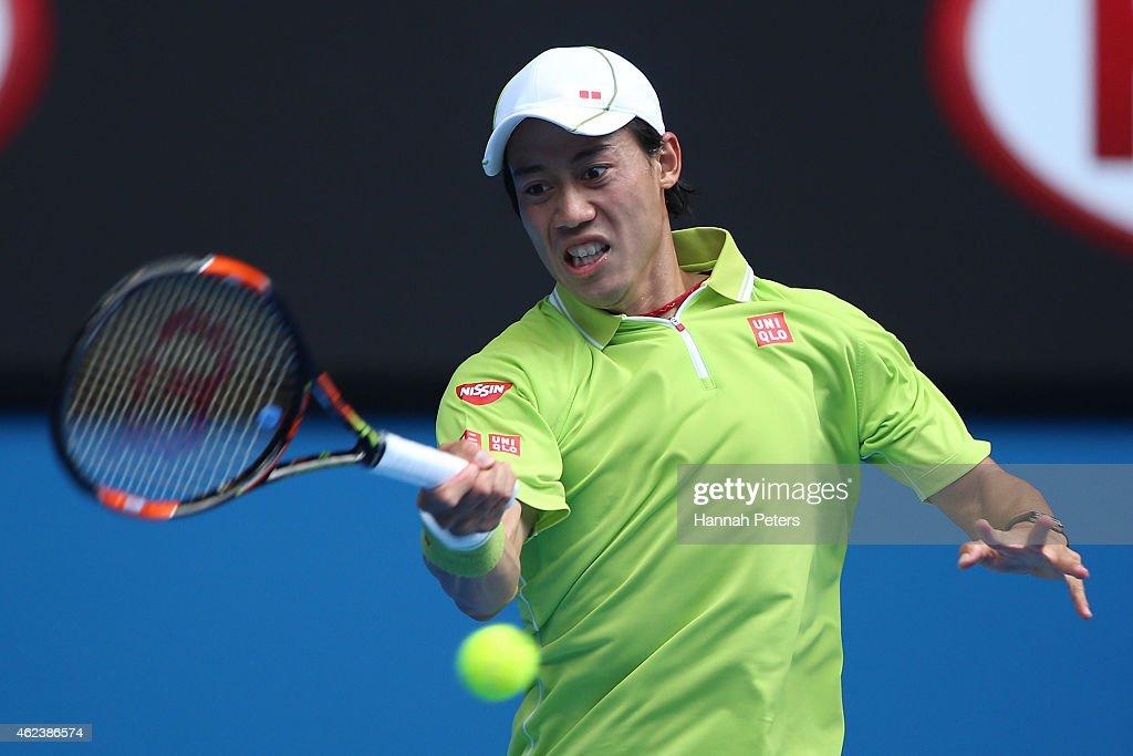 2015 Australian Open - Day 10 : News Photo