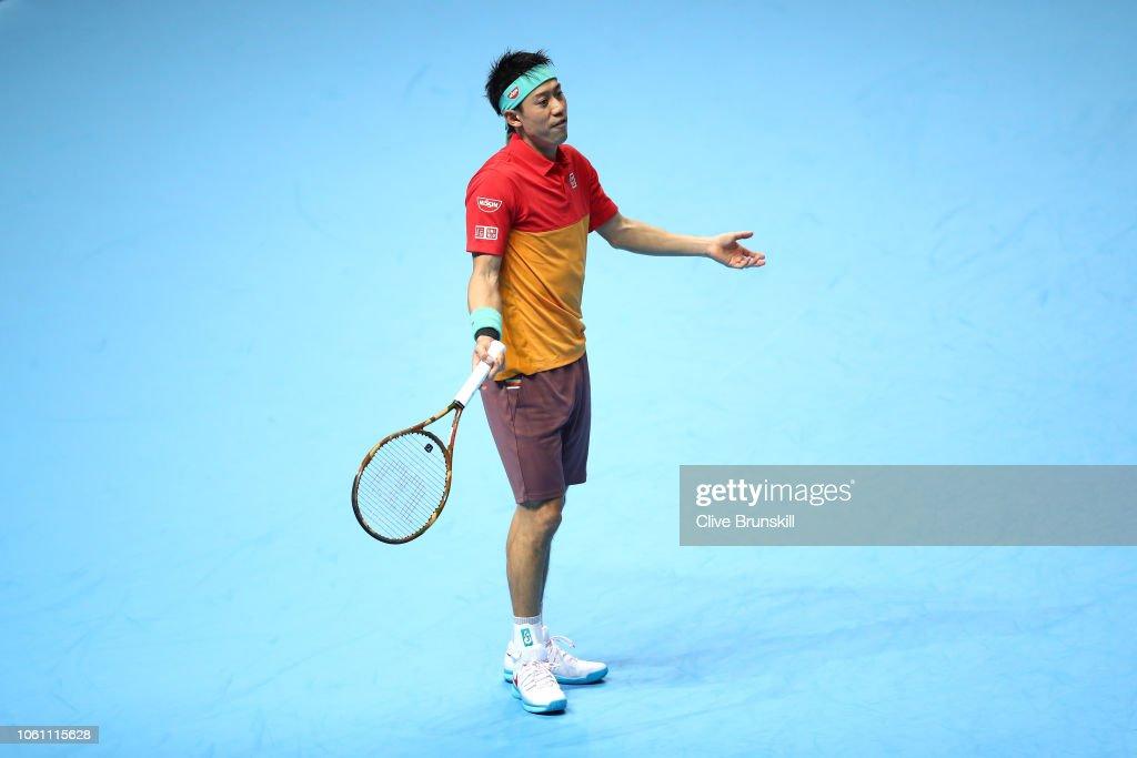Nitto ATP Finals - Day Three : ニュース写真