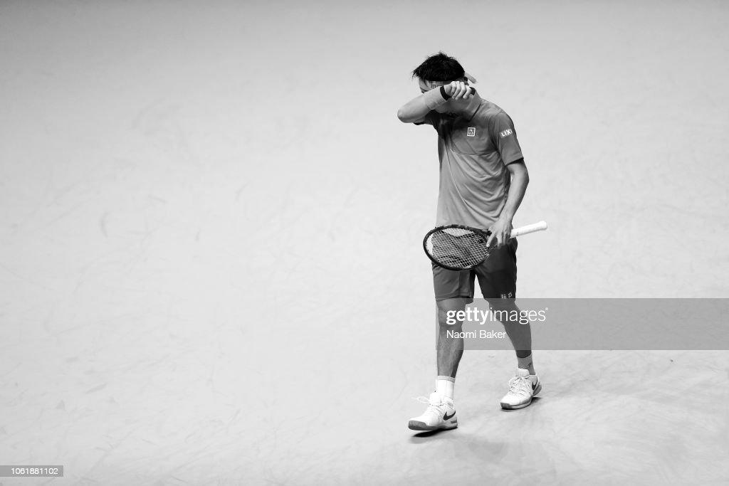 Nitto ATP World Tour Finals - Day Three : ニュース写真