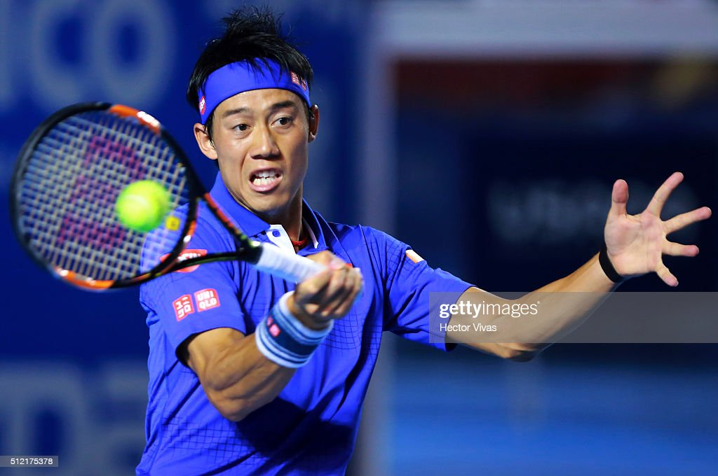 Telcel ATP Mexican Open 2016 - Querrey v Nishikori : News Photo