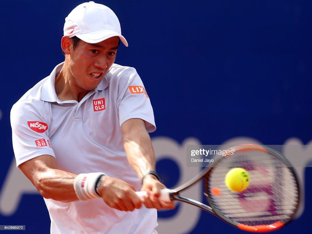 Kei Nishikori v Carlos Berlocq - ATP Argentina Open Day 5 : News Photo