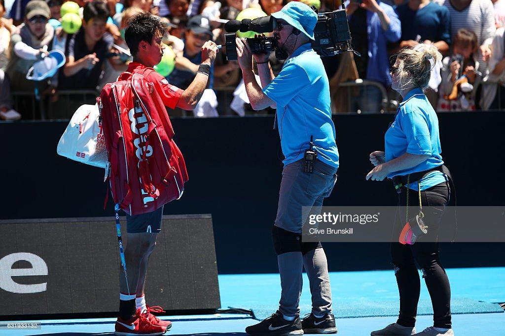 2017 Australian Open - Day 3 : ニュース写真