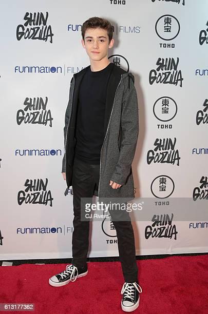 Keidrich Sellati attends 'Shin Godzilla' New York Comic Con Premiere on October 5 2016 in New York City