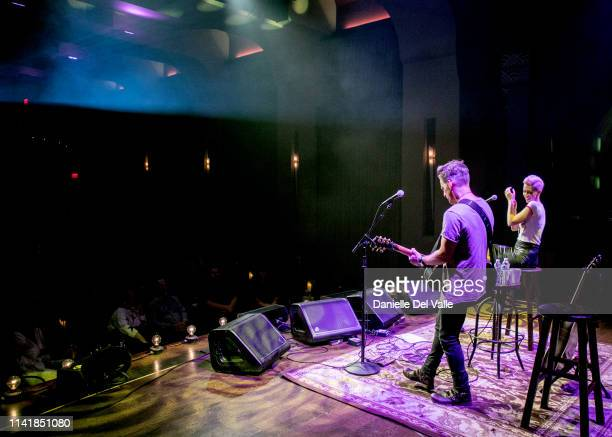 Keifer and Shawna Thompson of musical duo Thompson Square perform at Franklin Theatre on May 6 2019 in Franklin Tennessee