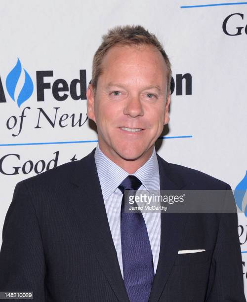 Keifer Sutherland attends the 2012 UJAFederation Music Visionary of the Year Award Luncheon at The Pierre Hotel on July 12 2012 in New York City
