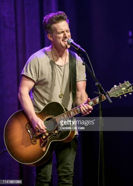 Keifer Thompson of musical duo Thompson Square performs at Franklin Theatre on May 6 2019 in Franklin Tennessee
