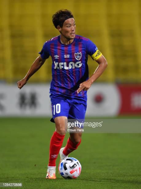 Keigo Higashi of FC Tokyo in action during the J.League Meiji Yasuda J1 match between Kashiwa Reysol and FC Tokyo at Sankyo Frontier Kashiwa Stadium...