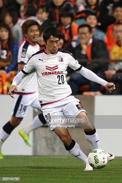 Keiji Tamada of Cerezo Osaka in action during the J.League second division match between Shimizu S-Pulse and Cerezo Osaka at the IAI Stadium...