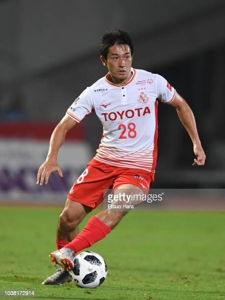 Keiji Tamada of Nagoya Grampus in action during the J.League J1 match between Kawasaki Frontale and Nagoya Grampus at Todoroki Stadium on September...
