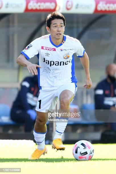 Keiji Tamada of V-Varen Nagasaki in action during the J.League Meiji Yasuda J2 match between Omiya Ardija and V-Varen Nagasaki at NACK5 Stadium Omiya...