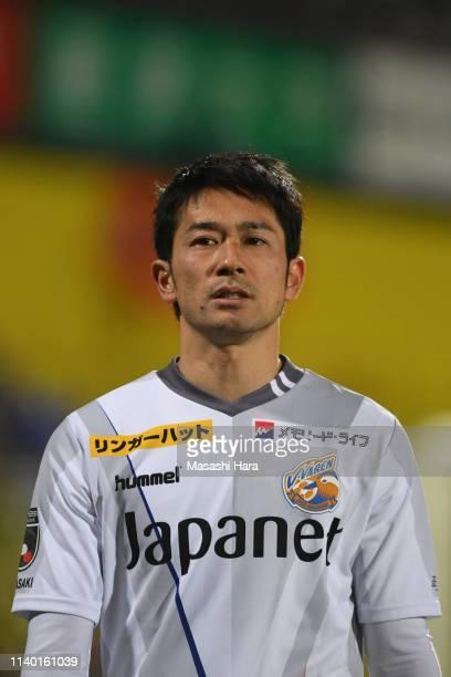 Keiji Tamada of V-Varen Nagasaki looks on after the J.League J2 match between Kashiwa Reysol and V-Varen Nagasaki at Sankyo Frontier Kashiwa Stadium...