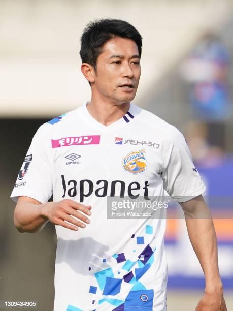 Keiji Tamada of V-Varren Nagasaki looks on during the J.League Meiji Yasuda J2 match between Omiya Ardija and V-Varen Nagasaki at the NACK5 Stadium...