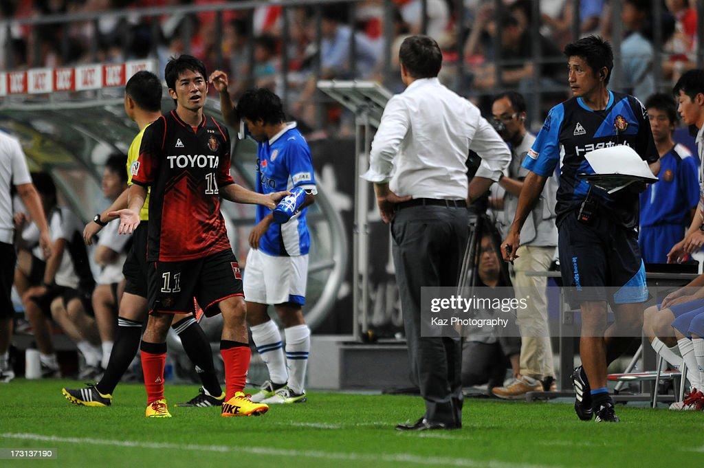 Nagoya Grampus v Shimizu S-Pulse - J.League 2013