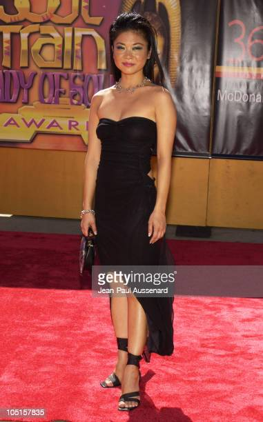 Keiko Agena during 9th Annual Soul Train Lady of Soul Awards Arrivals at Pasadena Civic Center in Pasadena California United States