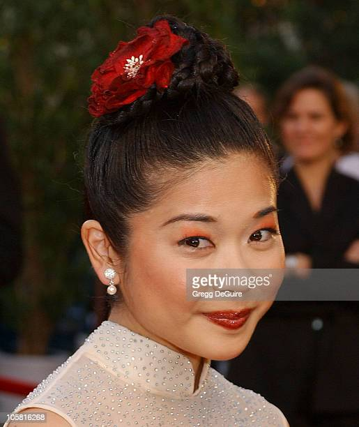 Keiko Agena during The 30th Annual People's Choice Awards Arrivals at Pasadena Civic Auditorium in Pasadena California United States