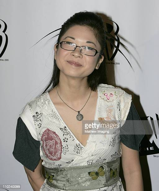Keiko Agena during The WB Television Network's 2005 All Star Party Arrivals at Warner Bros Studio in Burbank California United States