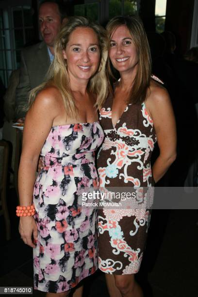 Keiley Fuller and Kristin Hocker attend The SKIN CANCER FOUNDATION's A Night Stars Shine On at The Boathouse on June 29th 2010 in New York City