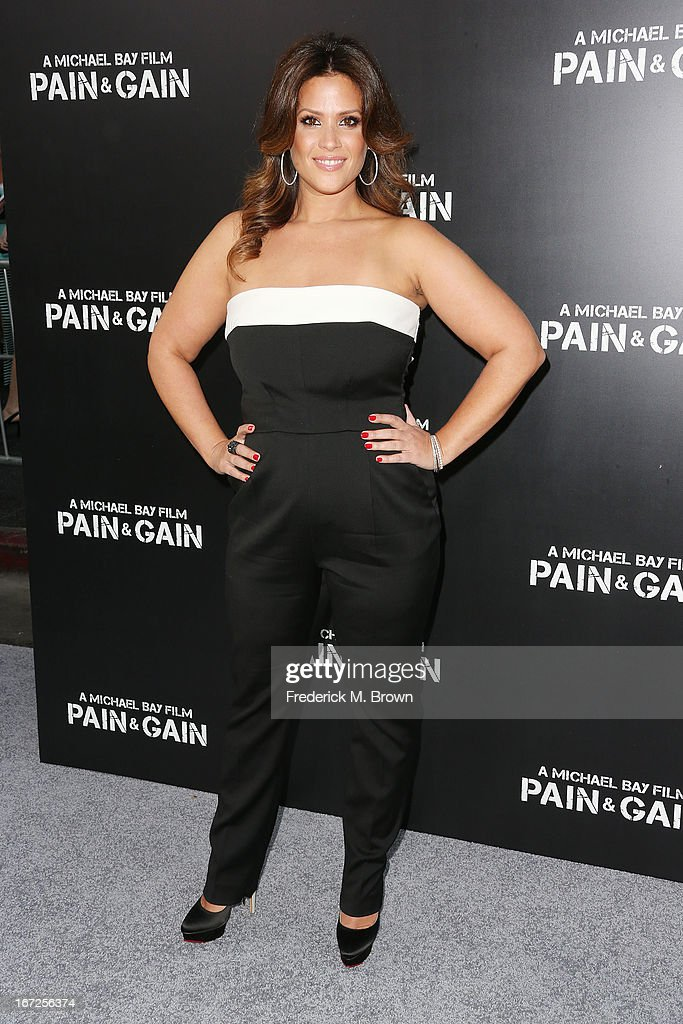 Keili Lefkovitz attends the premiere of Paramount Pictures' 'Pain & Gain' at the TCL Chinese Theatre on April 22, 2013 in Hollywood, California.
