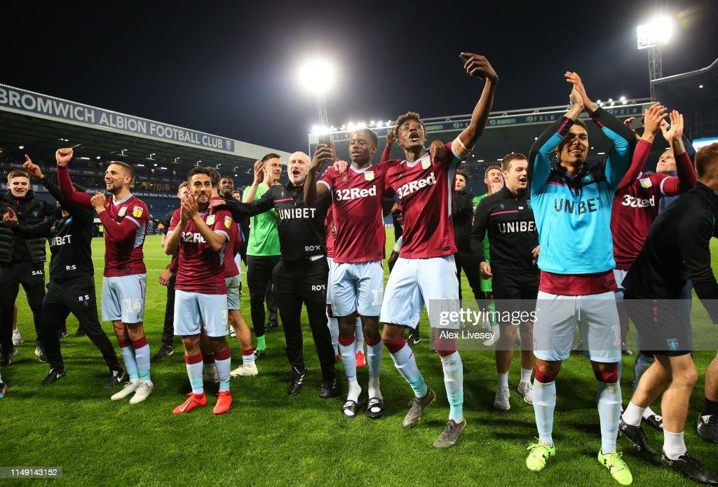 West Bromwich Albion v Aston Villa - Sky Bet Championship Play-off Semi Final: Second Leg : News Photo