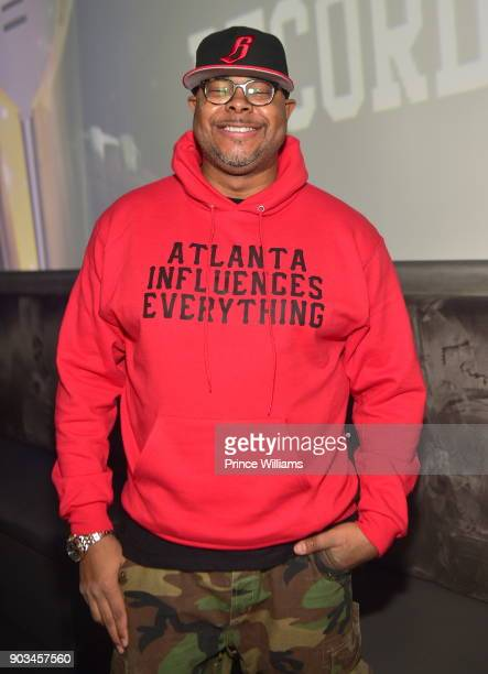 Keinon Johnson attends the 2018 Interscope National Championship Watch Party at Bytes Restaurant on January 8 2018 in Atlanta Georgia