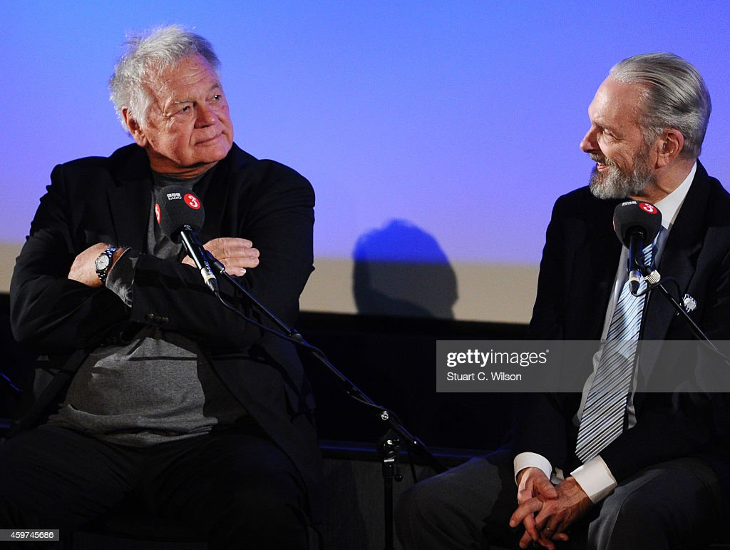 Keir Dullea and Gary Lockwood attend a panel discussion prior to a screening of '2001: A Space Odyssey', presented by the BFI For BBC Radio 3 at BFI Southbank on November 30, 2014 in London, England.