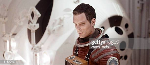 Keir Dullea in a scene from the film '2001 A Space Odyssey' 1968
