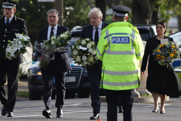GBR: Tributes Are Paid To Murdered MP Sir David Amess