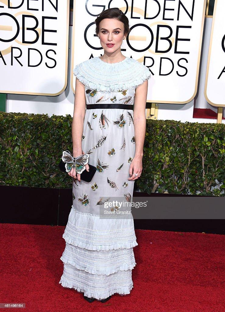 72nd Annual Golden Globe Awards - Arrivals : News Photo
