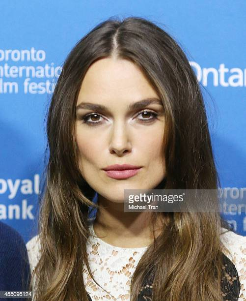 Keira Knightley arrives at the photocall of The Imitation Game held during the 2014 Toronto International Film Festival - Day 6 held on September 9,...