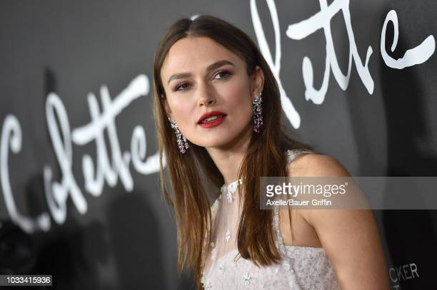 Keira Knightley arrives at the premiere of Bleecker Street Media's 'Colette' at Samuel Goldwyn Theater on September 14 2018 in Beverly Hills...