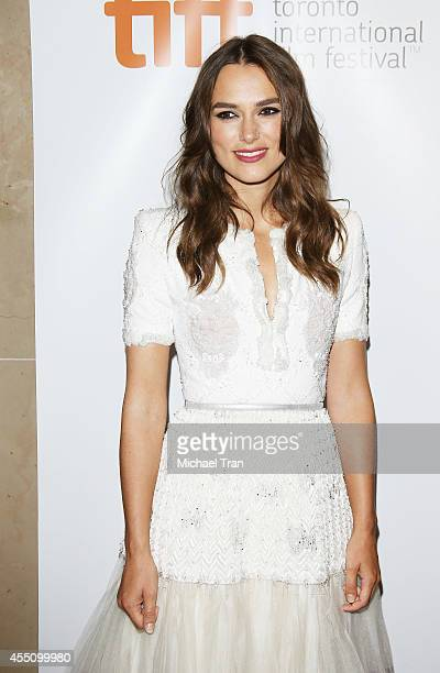 Keira Knightley arrives at the premiere of The Imitation Game held during the 2014 Toronto International Film Festival - Day 6 held on September 9,...