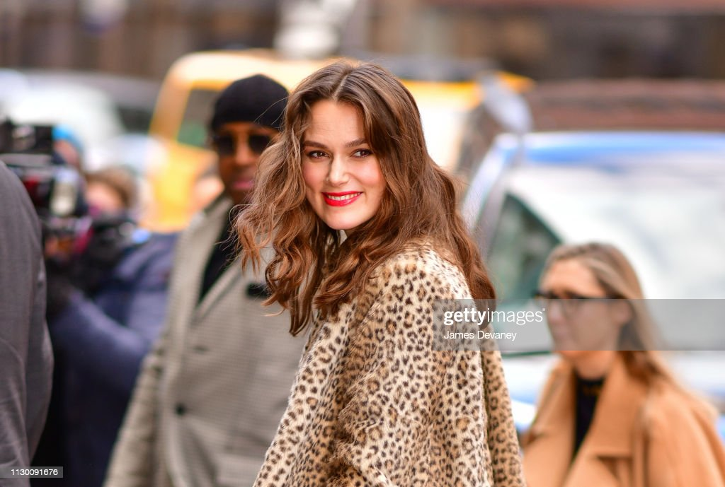 Celebrity Sightings in New York City - March 12, 2019 : News Photo