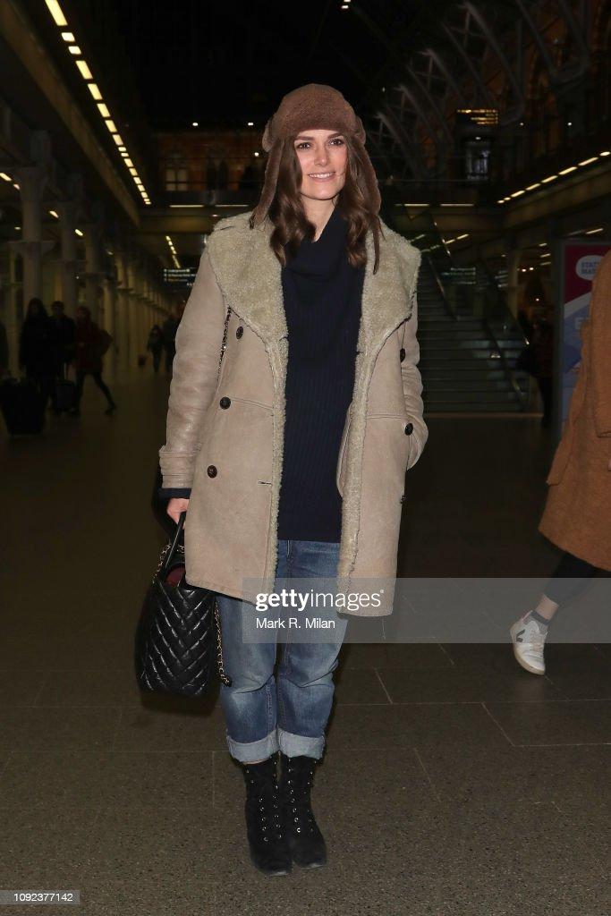 London Celebrity Sightings -  January 10, 2019 : Photo d'actualité